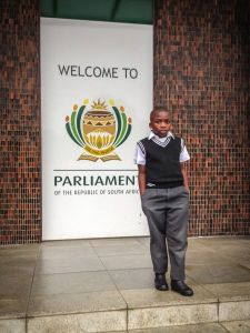 Banele in Parliament