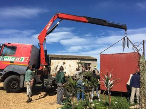 Jeffreys Bay Recycling Project - Contaciner