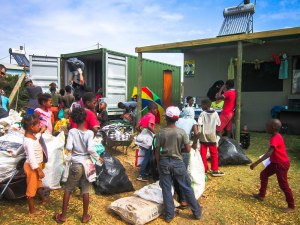 A bust day at Jeffreys Bay recycling project